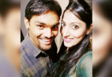 Hyderabad sunrisers player Sandeep Sharma engages with girlfriend