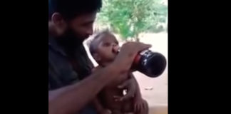 Sri Lanka police arrest father for sharing beer with toddler son