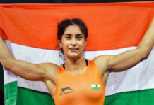 Asian Games 2018 Vinesh Phogat Wins Gold In Women's Freestyle 50kg Event