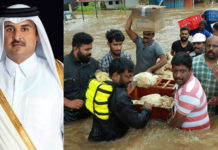 Qatar king al Thani donates Rs. 35 Crore to flood-affected Kerala