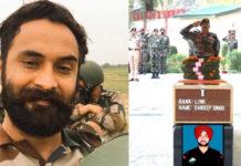 Lance Naik Sandeep Singh, 2016 surgical strike hero, killed two terrorists at LoC before succumbing to his injuries