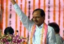 TRS party to organise a huge public meeting in districts from Octorber 3rd chief KCR will speaks in all