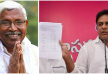 Telanana minister and TRS leader KTR questions Kodandaram and legitimacy of grand alliance of opposition parties in Telangana
