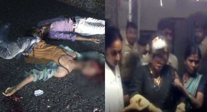 Road Accident At Kurnool District.. 6 People Dead, 15 Members Injured