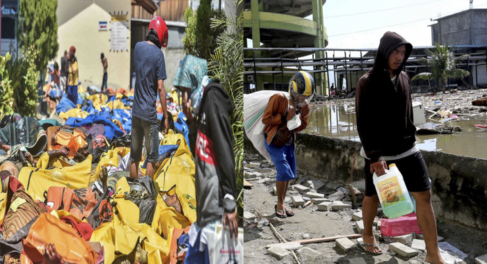 Tears of indonesia.. Stealing people for food and drinking water