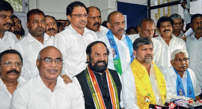 Tjs, Cpi Out From Mahakutami For Congress Party Not Giving Expected Seats For Elections