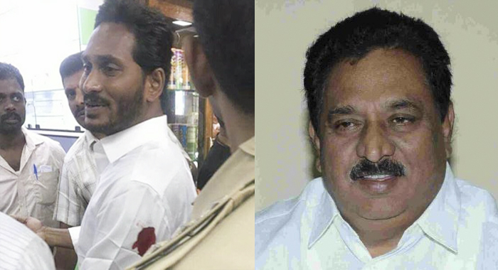 Andhra Pradesh home minister chinarajappa controversial comments on attack YSR Jagan Mohan at Visakhapatnam airport allege victim negligence