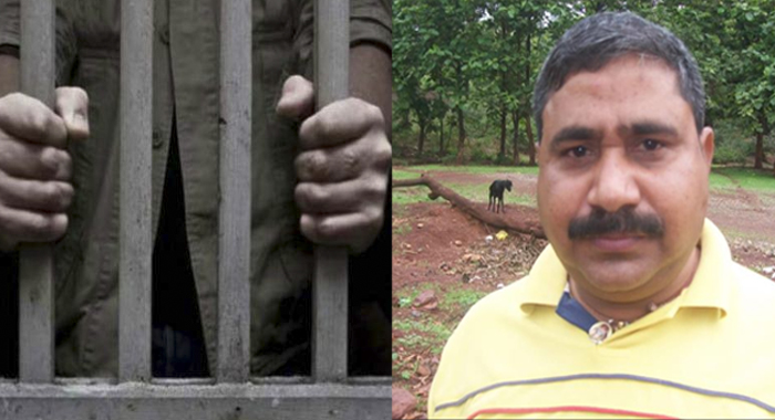 The BJP leader who saw the prisoners in jail Ramashankar Pathak Pandey planned to help the maoists flee, with three security personnel from the prison itself The police said that there are more people involved in the conspiracy.
