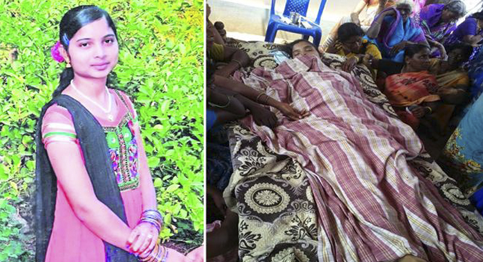 Girl suicide for Brother in law harassment in Khammam