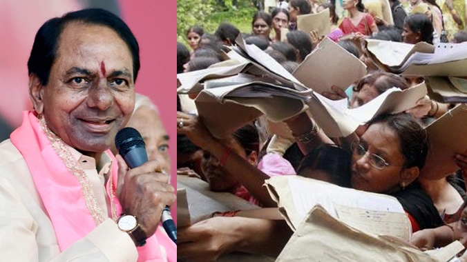 Expectations on eligibility for unemployment allowance in Telangana as promised by TRS chief KCR election manifesto what is the true picture criteria