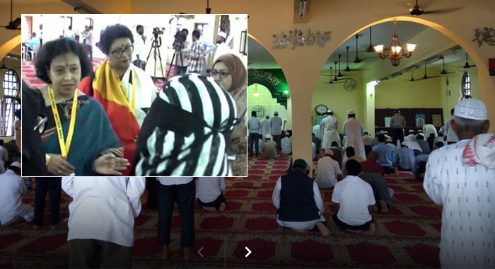 Indo-Arab mosque opens for all at Banjara Hillspart of Visit my masque programme