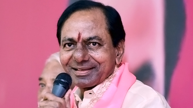KCR announces partial election manifesto targeting farmers and women by increasing old age pension, and Rythu bandhu  and other schemes