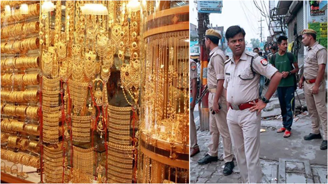 Massive loot of Rs 140 crore at the disputed .