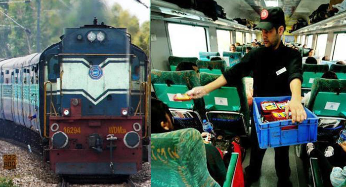 The change of the railway ... To eat meat on Gandhi Jayanti