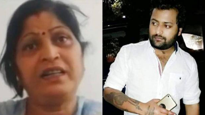 UP legislature councilRamesh Yadav Wife Strangles 23-Year-Old Son In Fit Of Rage she reportedly broke down and confessed to strangling her 23-year-old son.