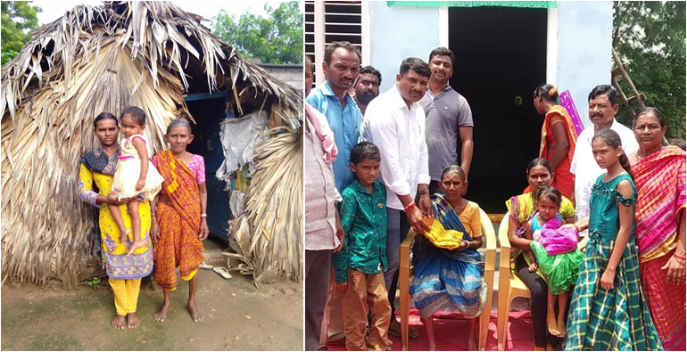 Inspector Nagammals built the house for the poor people