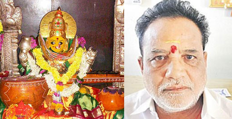 Basara saraswati temple chairman sharat pathak suspended