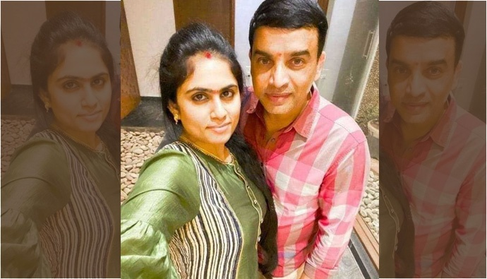 Dil Raju Selfie With His Second Wife