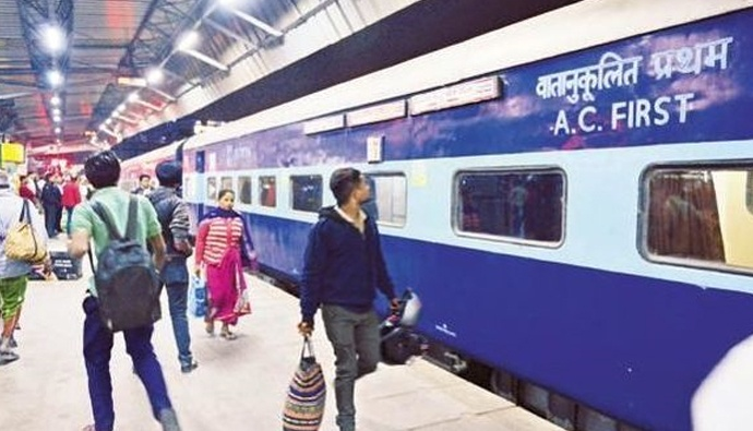 Indian railway good news waiting list tickers also available