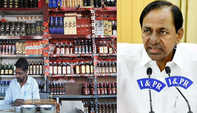 Wines open in telangana from tomorrow says cm kcr