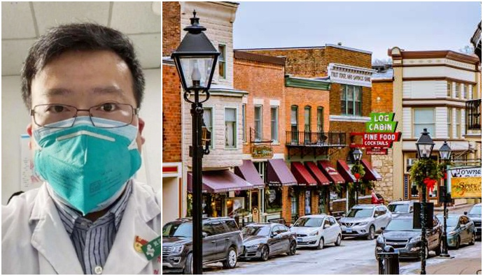 America Street Named To Chinese Dr.Li Wenliang