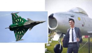 First Hindu Pilot in Pakistan