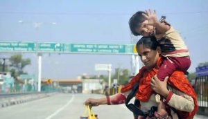 Lucknow woman travels 900 km to save daughter from Covid-19