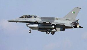 Pakistan Air Force jets increased patrols