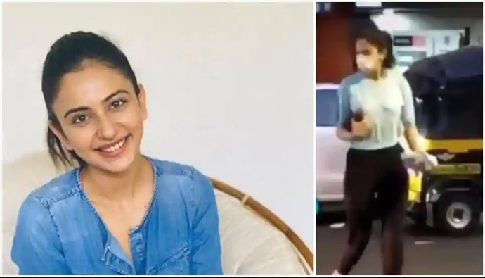 Rakul Preet Singh Takes a Dig at Viral Video Showing Her Buying Alcohol.j