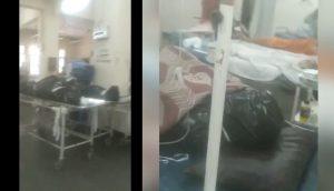 Shocking Video Bodies Next To Coronavirus Patients In Mumbai Hospital