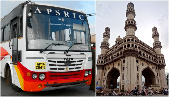 Special buses from Hyderabad to Andhra Pradesh