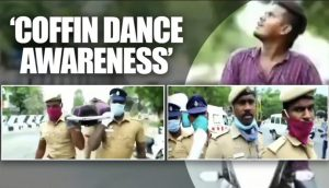 Viral Video TN police imitate Ghana dancing pallbearers