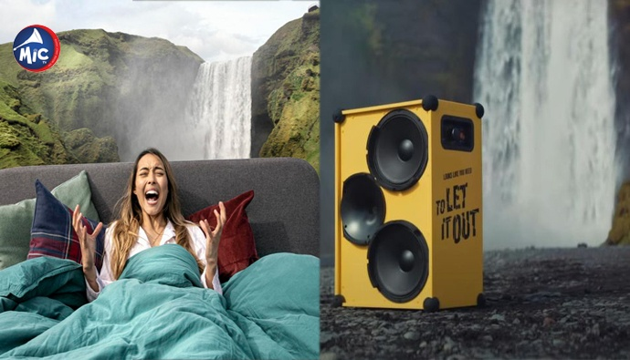 Screaming tourism campaign