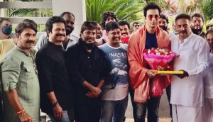 Actor Prakashraj honor to Sonu Sood