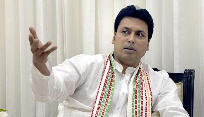 Rebellion against Tripura CM Biplab Deb