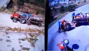 Tractor video goes viral in social media