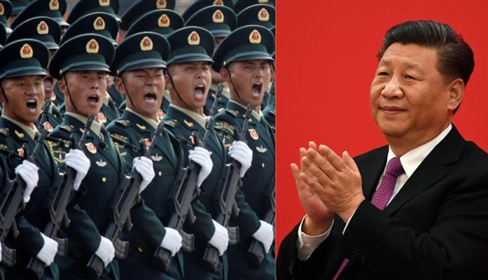 china's Xi Jinping Asks Troops
