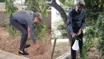 Kapil dev participated in green India challenge