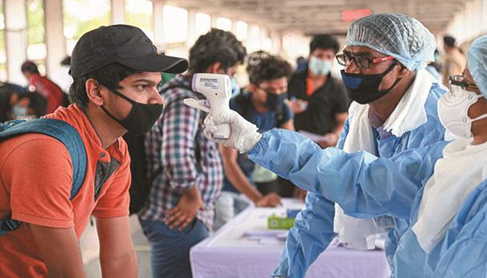 New coronavirus positive cases in India