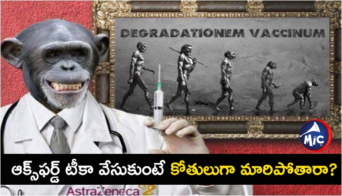 Russian disinformation effort: Oxford's COVID-19 vaccine turns people into monkeys