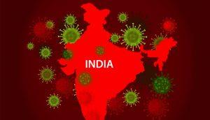Corona Cases in India October 1