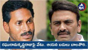 Raghuram Krishnaraju removed from parliamentary standing committed chairmanship