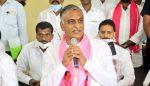 Harish Rao angry on 'BJP free corona vaccine.jp