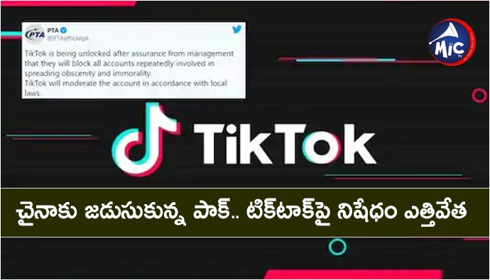 Pakistan Unblocks TikTok After Banning it For 10 Days Over 'Immoral' Content.jp