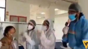 doctors celebrates patient birth day in doom days