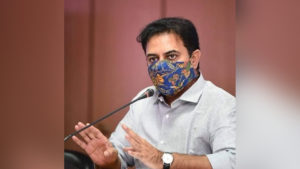 Telangana minister ktr gets positive
