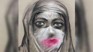Goddess Durga In a Burqa